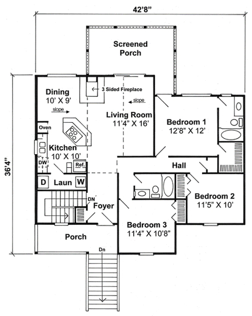 house plans for small home